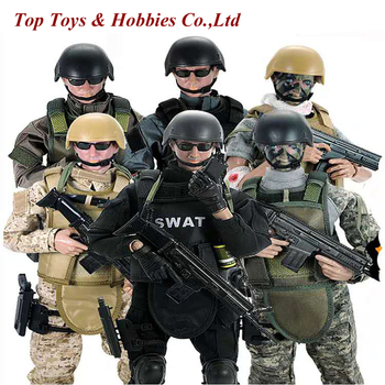 In stock Full Set doll 1/6 action figure military SWAT soldier Uniform Military toy Soldiers set military figure with Box full set action figure damtoys dam 780562 1 6 chinese peacekeeper pla in un peacekeeping operations