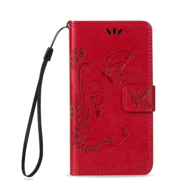 Durumda EN Kaliteli telefon çevirme pu deri cüzdan Cüzdan Kapak için Kelebek Ile alcatel 5V 3x 3C shine lite 3L 1x u5 1