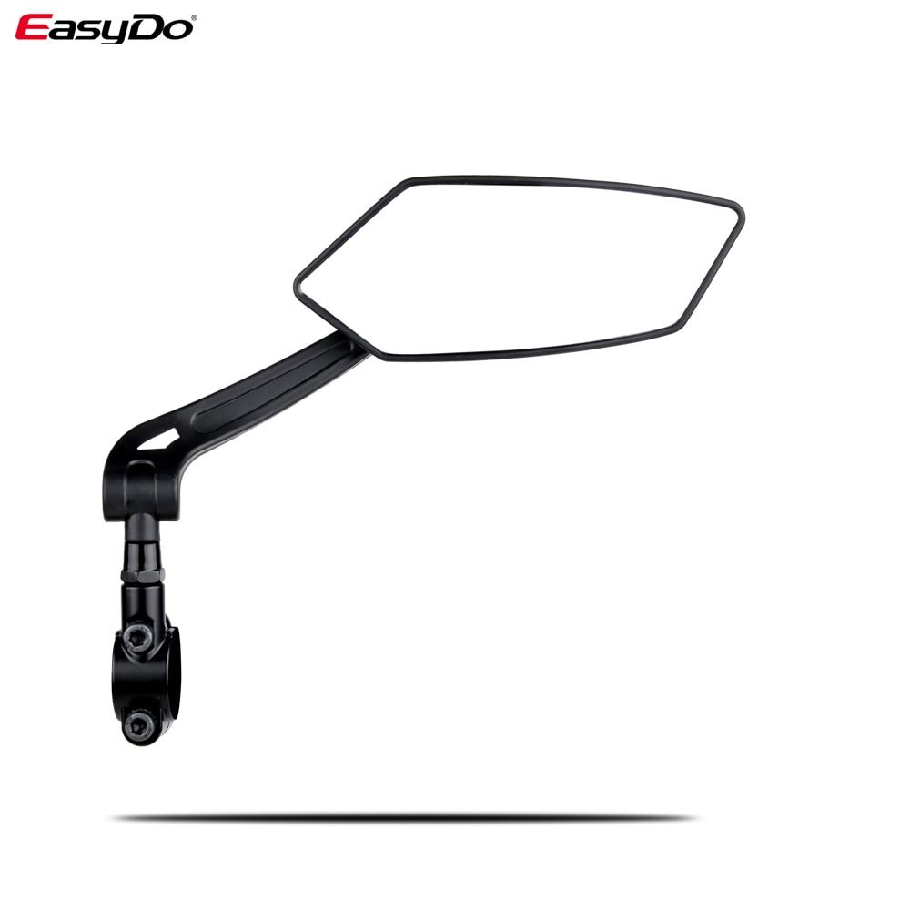 Велосипед EasyDo зеркало заднего вида 360 градусов Поворот для велосипеда MTB велосипедные аксессуары гибкий Безопасность зеркала заднего вида