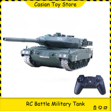 RC Battle Tank Military War Heavy Large Interactive Remote Control Toy Car Simulation Shoot Model Electronic Boy Toys children