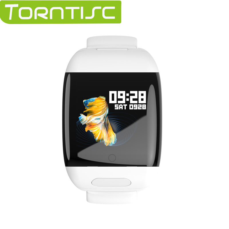 Torntisc 2020 Sport Smart Watch Men with TWS Bluetooth Earphones Heart Rate Blood Pressure Monitor Smartwatch for Android IOS