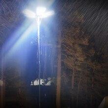 360 lumière led étanche en plein air lanterne canne à pêche Camping lumière led pour voyage de route nuit pêche partie éclairage photographique