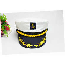 2019 new parent-child navy cap fashion military red black and white classic captain hat boys girls sailor