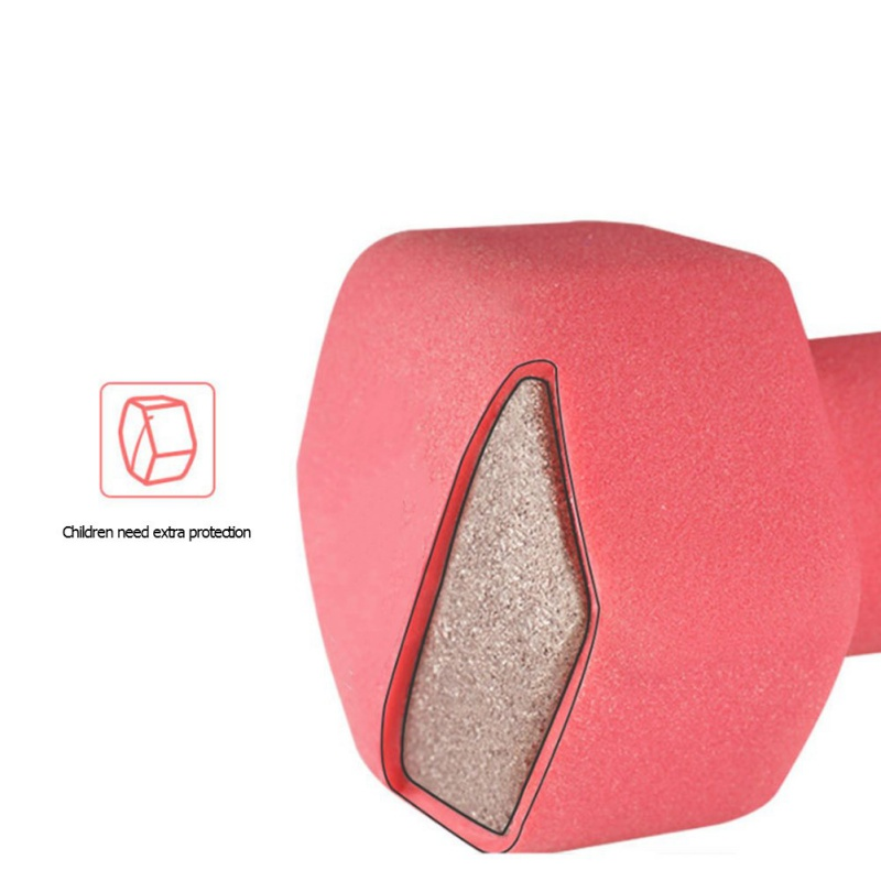 1 1 5 2kg 1pc Small Dumbbell Thin Arm Yaling Plastic Dipping High quality Shaping Aerobics