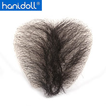 Hanidoll Sex Doll Pubic Hair for Silicone Sex Dolls(China)