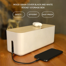 Wire Storage Box Cable Manager Organizer Box Power Line Storage Cases Junction Box Household Necessities orico cmb18 abs electrical socket storage box power cable manager case