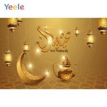 Yeele lanterne croissant Ramadan fête décor Eid moubarak arrière plan photographique photographie décors pour Photo bébé Studio accessoires