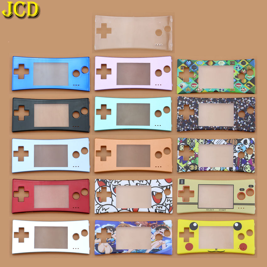Image 1 - JCD 1Pcs Replacement For Nintend GameBoy Micro Halloween Front Case Housing  For GBM Front Faceplate Cove Repair Part-in Cases from Consumer Electronics