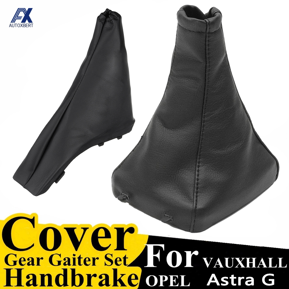For Opel/Vauxhall Astra G 1998-2004 Handbrake Gear Shift Stick Boot Gaiter Gaitor Cover Pu Leather Coupe 2000-2004