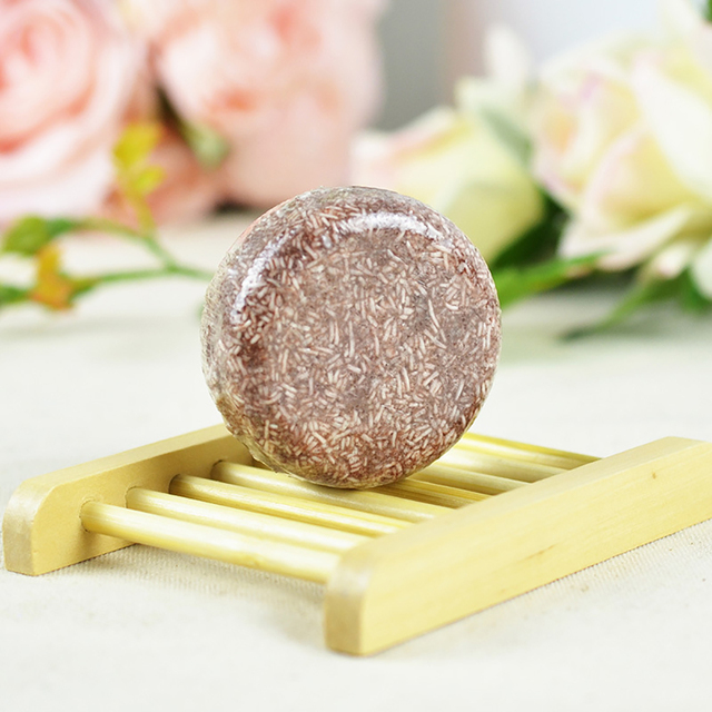 55g Handmade Shampoo Bar Hair Darkening Washing Repair Nourish Natural Soap It can help make your hair more black and smooth. 2