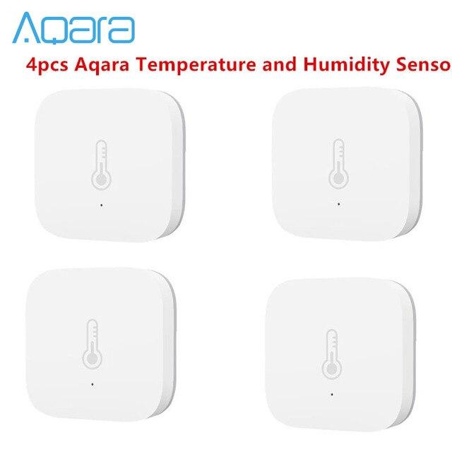 Bundle Sale Aqara Temperature Humidity Sensor Environment Air Pressure for Mijia Smart Home Zigbee Wireless Control