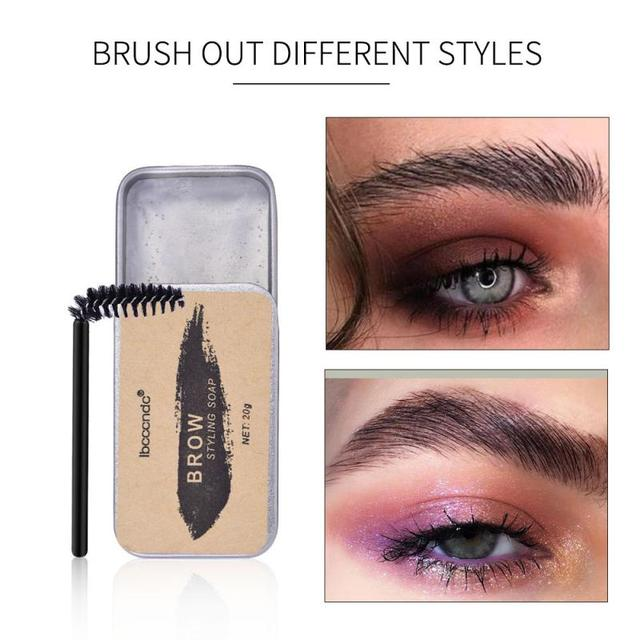 3D Feathery Brows Makeup Balm Styling Brows Soap Kit Lasting Eyebrow Setting Gel Waterproof Eyebrow Tint Pomade Cosmetics TSLM1 1