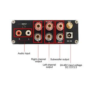 Image 4 - AIYIMA HIFI TPA3255 Bluetooth 5.0 APTX 2.1 subwoofer amplifikatör 75W * 2 + 150W yüksek güç dijital ses AMP ev ses sineması DIY