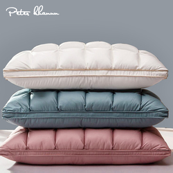 Peter Khanun 3D chleb puch gęsi i poduszki z piór do spania 100% pokrowiec bawełniany z naturalnym wypełnieniem King rozmiar Queen P01