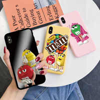 For Huawei P20 P30 P40 P Smart Y6 Y7 Y9 Prime 2019 Mate 20 Honor 10 20 i 9C 8X Lite E Pro 2018 M&M's Chocolate Nutella TPU Cases