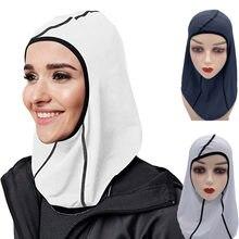 Женский профессиональный спортивный хиджаб 1 шт сетчатый трикотажный