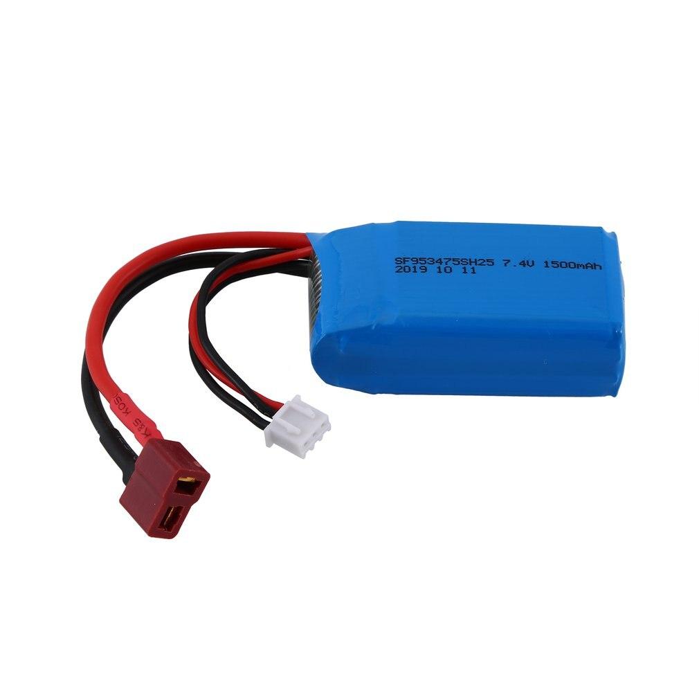 7.4V 1500mAh batterie Rechargeable Lipo batterie RC batterie au Lithium RC ensemble de voiture pour WLtoys A959-b/A969-b/A979-b/K929-B