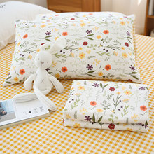 Cotton Bed Sheet Fabric For Quilting Baby Cloth Kids Bedding Patchwork Tissue