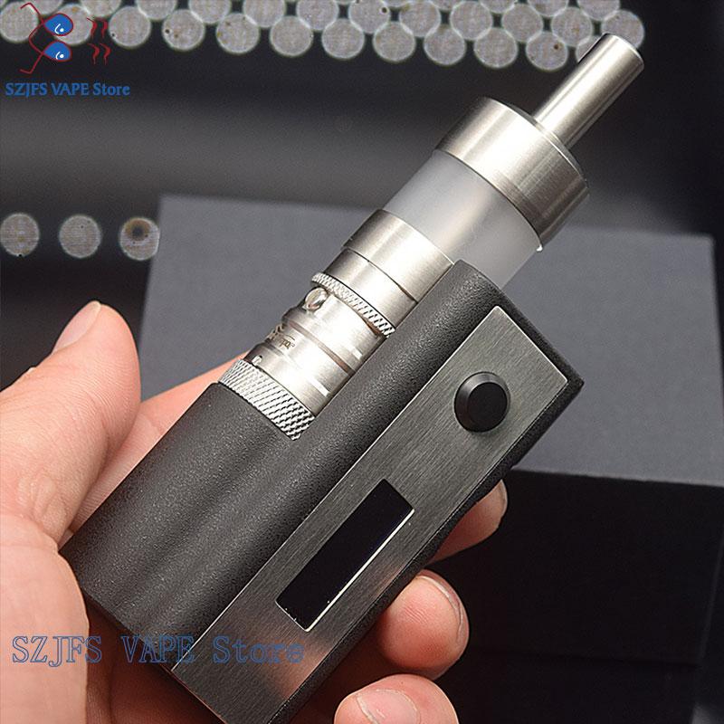 E-Cigarette Adjustable Vape SXK Stealth 60W Mod With Flash E Vapor V4.5 RTA 0.91 OLED Screen Vape 18650 Battery Mechanical Mod