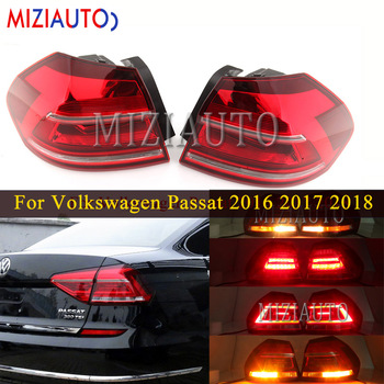 rear bumper reflect light with bulb for range rover evoque 2012 automobile rear brake fog light tail stop turn signal lamp Rear tail light Outer side For Volkswagen Passat 2016 2017 2018 Tail Stop Brake Bumper Lights Rear turn signal Fog lamp