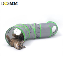 Cat Tunnel Toys Kitten Tube Collapsible Hideaway for Kittens Rabbits Puppies  Cat Play Foldable Toy Tunnel for Cats outdoor cat wet food royal canin kitten sterilized kitches for kittens pieces in sauce 24 85 g