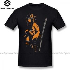 100 algodão de manga curta camiseta engraçado homem impressão mais tamanho verão tshirt xamã rei t camisa xamã rei yoh laranja