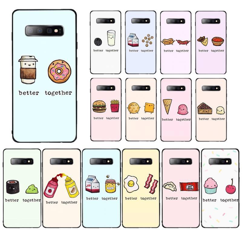 Милый чехол YNDFCNB для телефона Samsung S5 6 7 edge 8 9 10 20 plus
