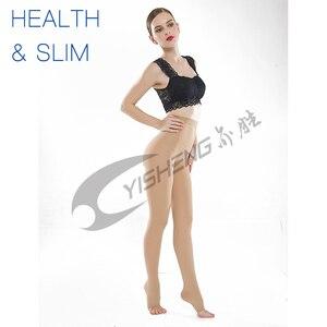 Image 5 - Yisheng collants de Compression médicaux, bas minces, 20 à 30 mmHg, pour femmes