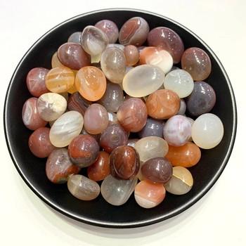 100 g naturalny rolling czerwony agat przezroczysty żwir agat kamień leczniczy akwarium VICA materiał DIY tanie i dobre opinie CN (pochodzenie) MASKOTKA Nowoczesne