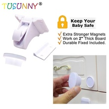 TUSUNNY Baby Security Magnetic Lock Magnet cabinet drawer for child safety