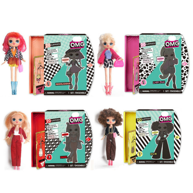 LOL Surprise Original With Accessories Blind Box Magic DIY Lols Dolls Omg Dress Action Figure Model Girl's Toy Gift 2L17