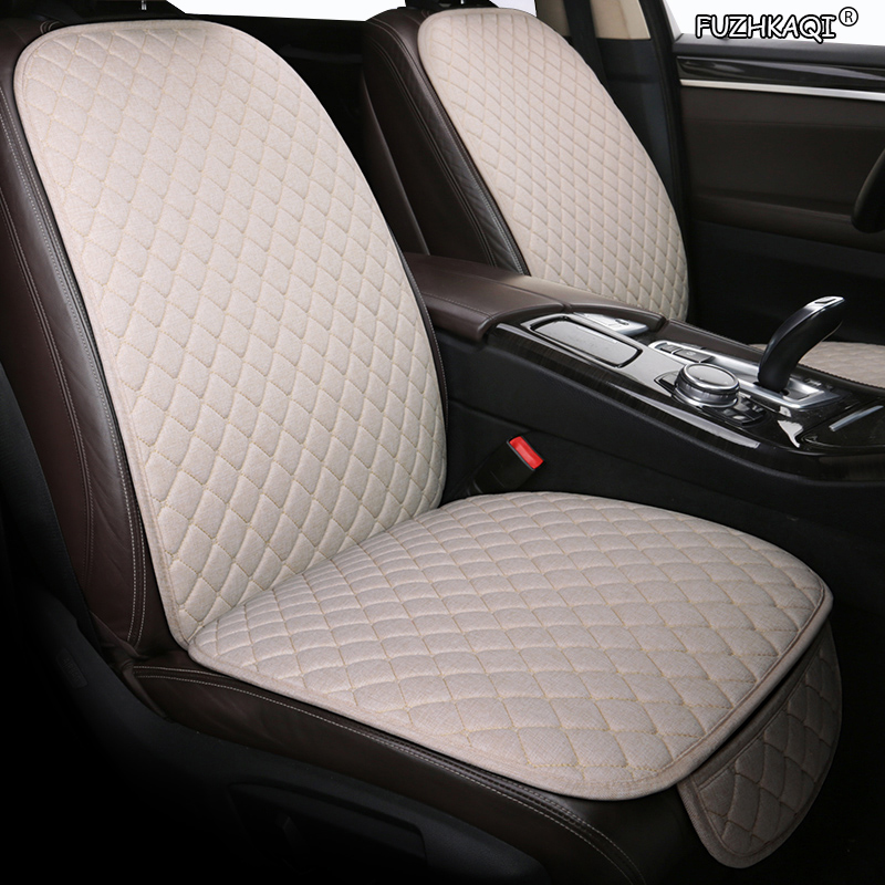 FUZHKAQI flax car seat covers for Citroen all models c4 c5 c3 C6 Elysee Xsara C-Quatre Picasso auto seat cover cars accessories