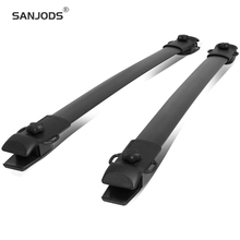 SANJODS Roof Rack Pair OE Style Car Roof Rack Rail Cross Bars Top Luggage Cargo Carrier Replacement For Toyota Sienna 11-18 sanjods car roof rack pair roof rack top rail aluminum cross bar replacement for toyota rav4 adventure 2019 2020