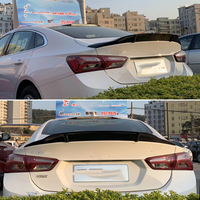 Use for Chevrolet Malibu XL spoiler 2016 17 18 19 year real glossy carbon fiber rear wing R style sport accessories body kit