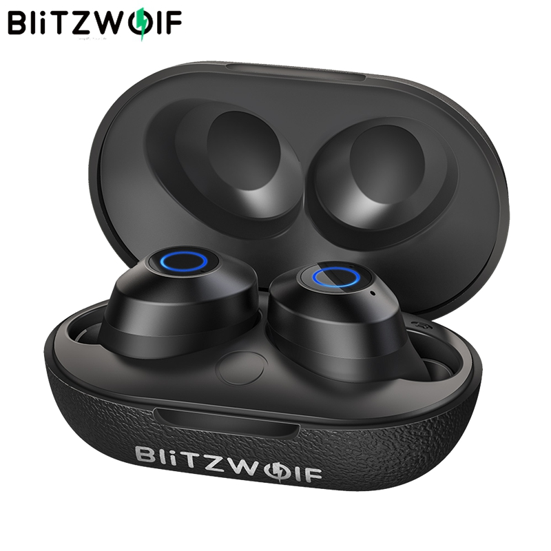 BlitzWolf FYE5 5.0 TWS True Wireless In-ear Earphone Sports Stereo Waterproof HiFi Mini Earbuds 10M Obstacle-free Connection