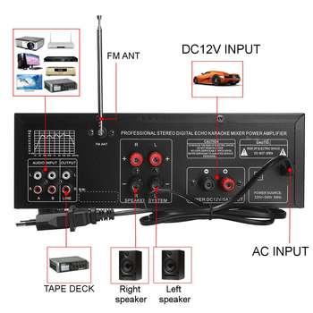 Усилитель мощности SUNBUCK TAV-3313WBT, 2*100 Вт, Bluetooth 3