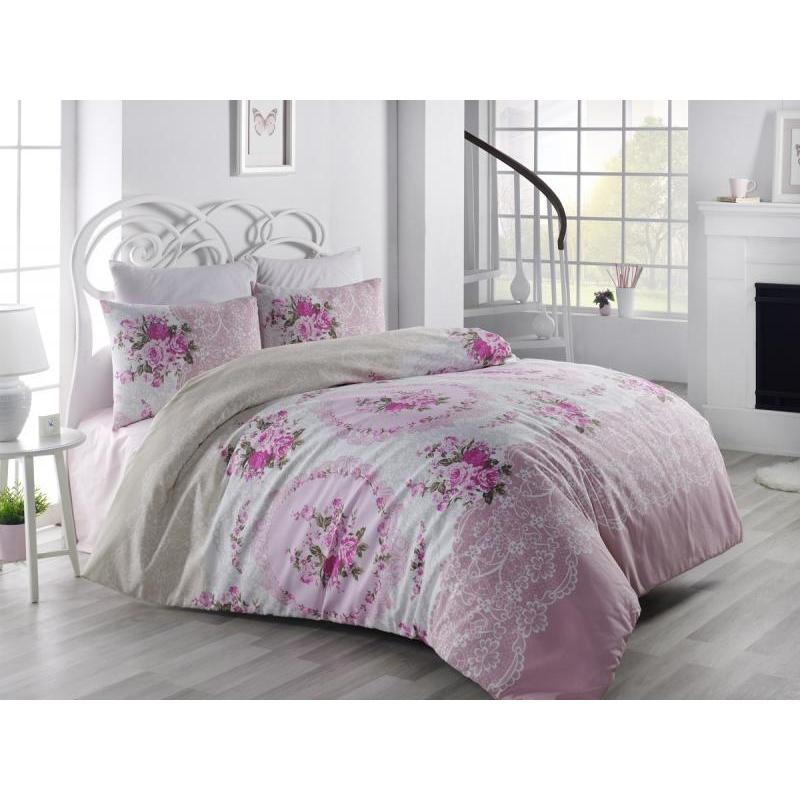 Bedding Set double-euro KARNA, RANFORCE, ARVEN, pink ranforce bedroom set cotton box ranforce bedroom set