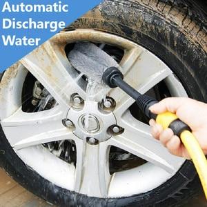 Image 2 - Escova longa da lavagem do carro do punho para o fluxo da espuma da água de lavor/karcher k2 k7