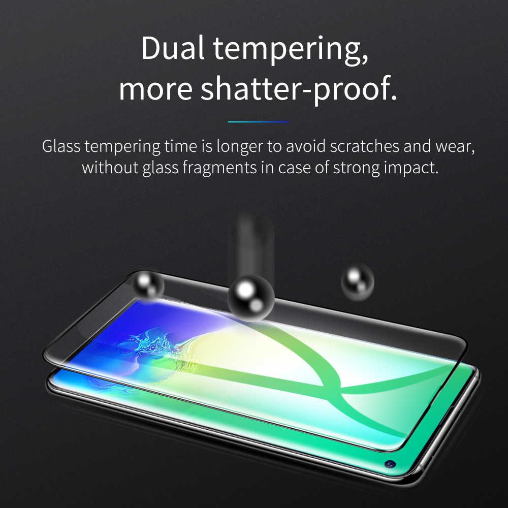 HOCO 3D полное закаленное стекло для samsung Galaxy S10 Plus S10E протектор экрана для samsung Note10 Защитная стеклянная пленка Note10 +