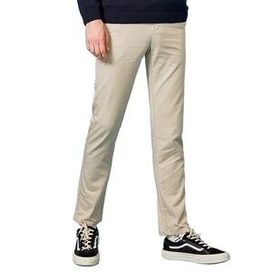 Image 3 - Semir 2019 primavera inverno novas calças casuais dos homens de algodão fino ajuste chinos moda calças masculinas marca roupas plus size negócios