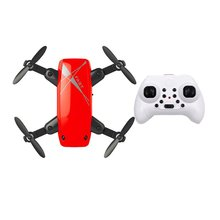 цена на S9 Mini RC Drone 2.4G 4CH 6-Axis Foldable RTF Quadcopter Altitude Hold One-Key Return Helicopter Headless Aircraft
