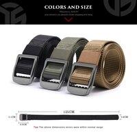 Men belt tactical military alloy m