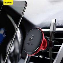 Магнитный автомобильный держатель для телефона baseus iphone