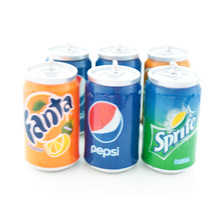 5Pcs Mini Drink Cans 3D Resin Charms For Jewelry Findings Cu