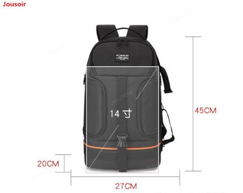 DSLR étanche antichoc épaules caméra sac à dos trépied avec réflecteur rayure fit 15.6 dans la pochette d'ordinateur CD05 T03