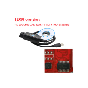Image 3 - PIC1825K80 ELM327 USB V1.5 For Ford FTDI chip with switch HS/MS OBD 2 CAN  For Forscan car diagnostic Tool & elm 327 usb Version