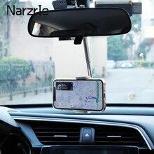 Supporto per telefono con supporto per specchietto retrovisore per auto a 360 gradi per iPhone 12 supporto per telefono per Smartphone con sedile GPS supporto regolabile
