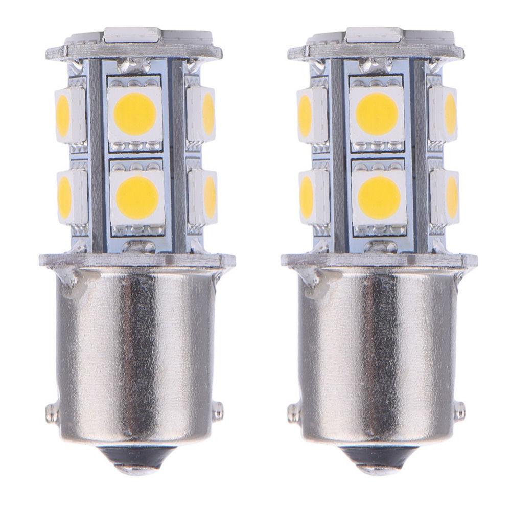 Теплый Белый 1156 BA15S P21W R5W R10W 13-SMD RV светодиодный внутренний светильник сигнальные лампы 1141 12V 24V Индикатор тумана Лампа BAU15S BAY15D