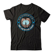 Cameron boyce vamos acabar com a crise de água t-shirts marca moda camiseta