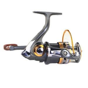 Image 1 - 2000 Series 11BB 5.2:1 Ball Bearings Sea Aluminum Rolling Fishing Spinning Reels Saltwater Rock Fishing Fish Line Wheel